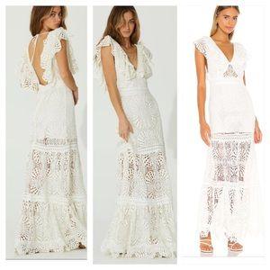 JEN'S PIRATE BOOTY Maldives white Maxi Dress